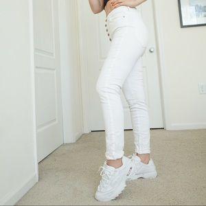Forever21 white jeans
